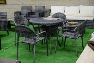 Mesa Jardin 4 sillas