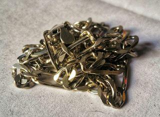 Cadena en plata ley 925 manufactura italiana