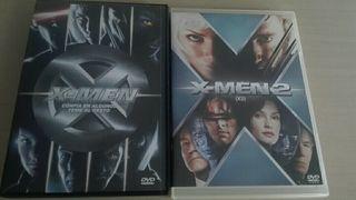 Peliculas DVD XMEN y XMEN 2