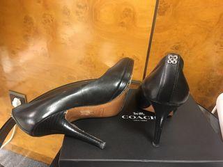 Zapatos salón piel COACH