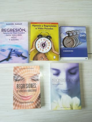 libros de hipnosis y regresiones al pasado