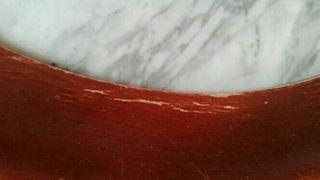 Mesa mármol y madera