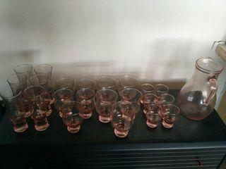 Juego vasos