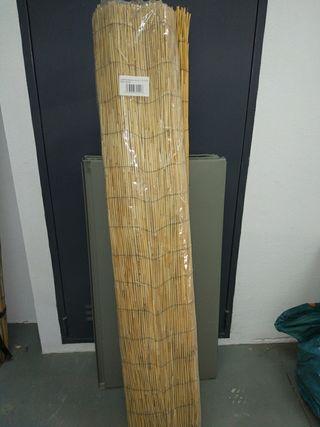 4 rollos de cañizo de bambú chino 1,5 m x 5 m