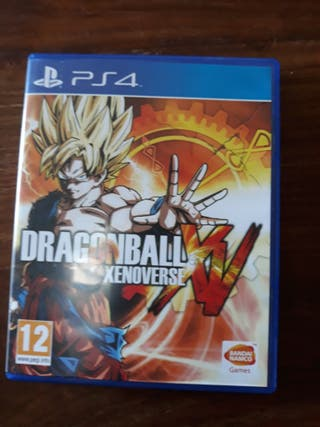 juego ps4 dragonball xenoverse