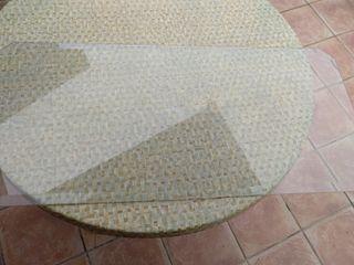 cristal para mesa alargada