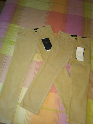 Pantalones Pana de Mayoral. Tallas 4 Y 5 años.