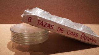 Duralex Taza Cafe+Plato Transparente