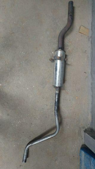 tubo de escape duramax wv polo classic 86c