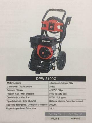 Hidrolimpiadora DUCATI DPW3100