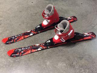 Botas esqui infantil HEAD + esquís HEAD