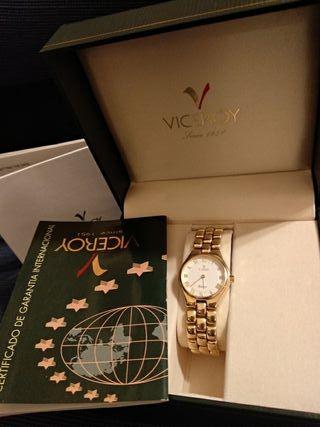 Reloj oro Viceroy mujer