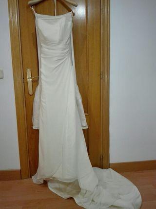 vestido de novia de segunda mano en colmenar viejo en wallapop
