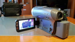 Cámara vídeo SONY DCR-DVD403E PAL Handycam
