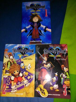 Kingdom Hearts Manga Final Mix, Chain of M. & KHII