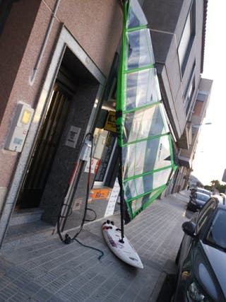 equipo wind surf