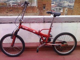 Bicicleta plegable mv folding city mountain bike