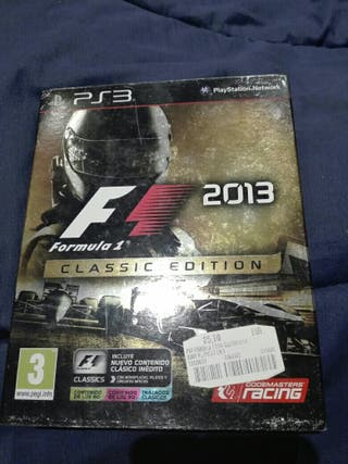 juego ps3 f1 2013