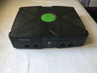 Consola Xbox Clasica Antigua
