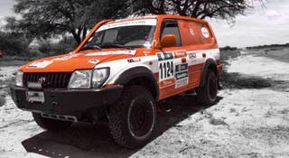 Toyota Land Cruiser Rally Raid Fia