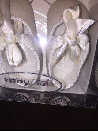 Zapato bebe talla 15