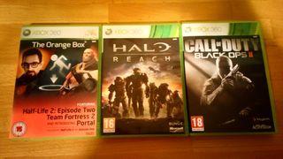 Halo Reach y Halo 3 xbox 360 y one