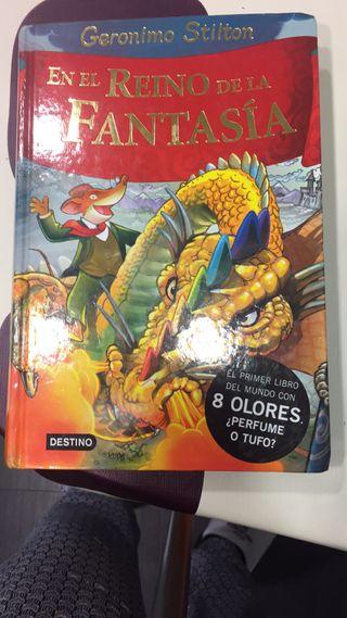 viaje al reino de la fantasía G. Stilton 1, 4 y 5