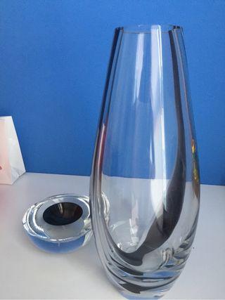 Conjunto decoración cristal murano