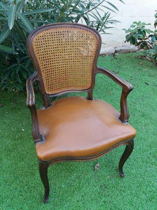 Cama individual estilo luis xv de segunda mano por 90 en tarrega wallapop - Wallapop muebles antiguos ...