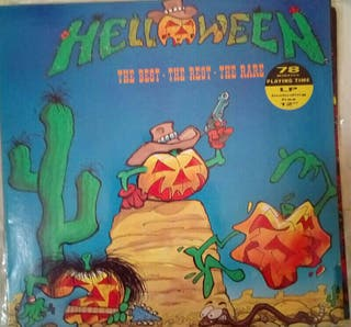 """Helloween """"the best, the rest the rare"""""""