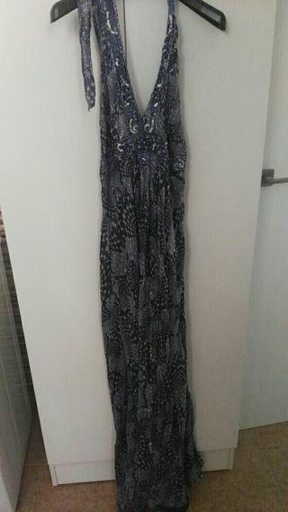 vestido largo cortefiel