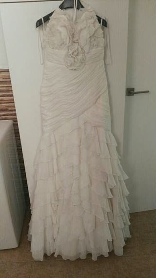 vestido novia sin uso corte ingles