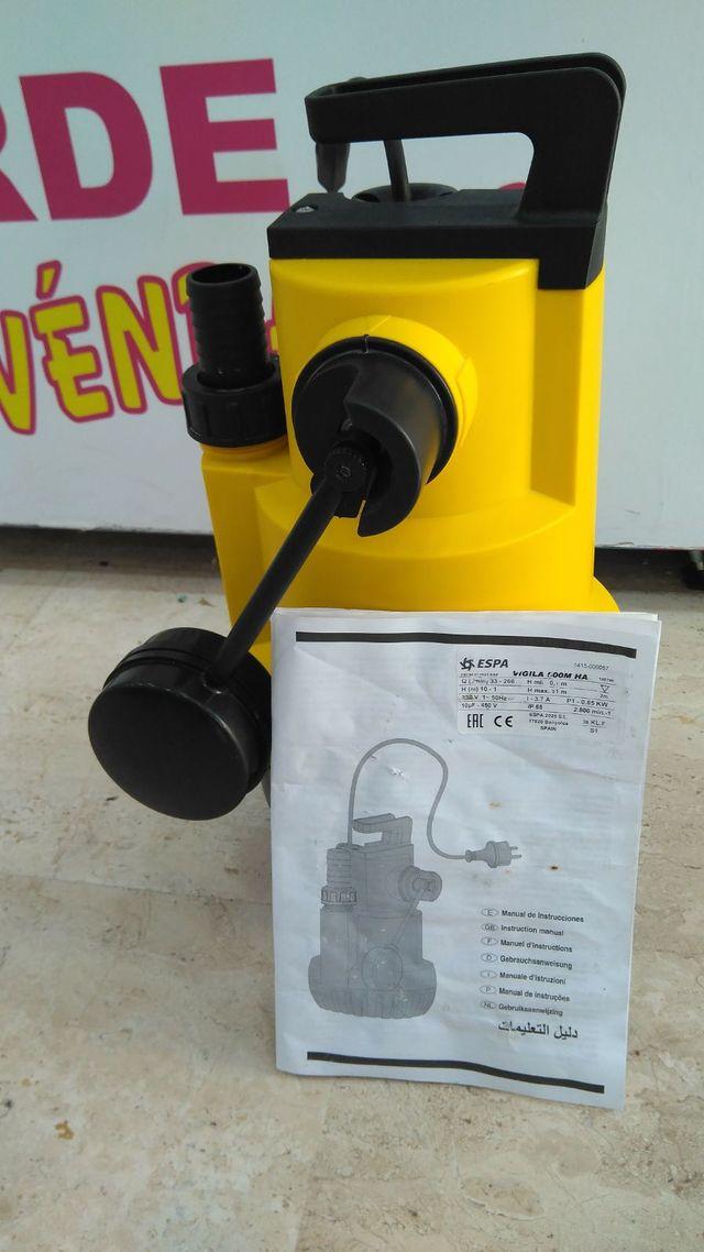 Bomba Achique Drenaje ESPA Vigila 500MA de segunda mano en Molina de ...