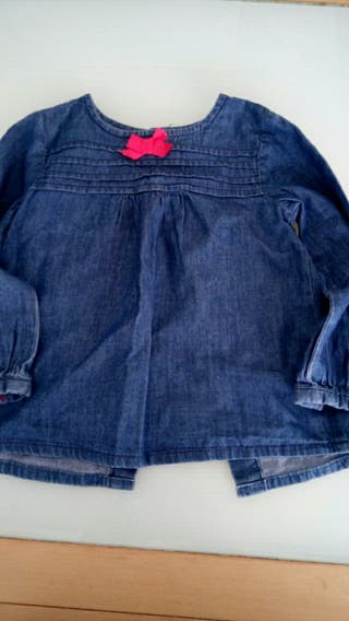Camisa niña 2 años
