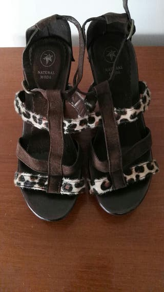 zapatoa de plataforma numero 36
