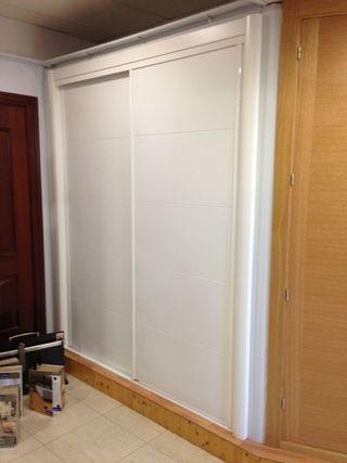 armarios a medida, puertas y tarima