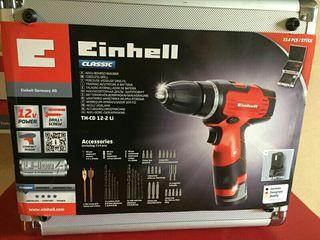 Kit taladro bateria Einhell TH-CD 12/2