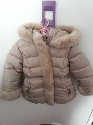 Abrigo niña talla 4