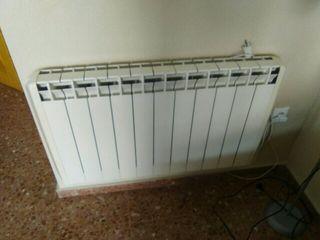 radiadores calefaccion calor azul