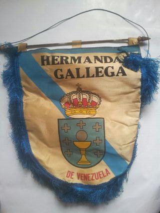 banderín hermandad gallega de Venezuela