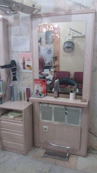 tocador de peluquería