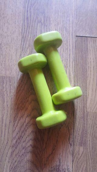 Mancuernas Fitness de 1 kilo