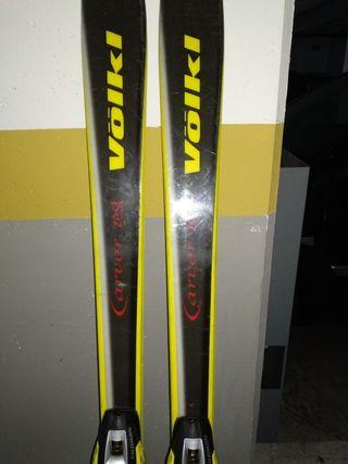 Vendo esquís