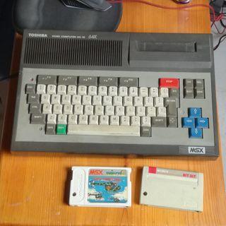 Ordenador Toshiba MSX HX-10 64K