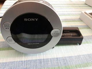 cargador radio-despertador SONY para iphone 4