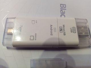 Adaptador externo tarjeta micro SD