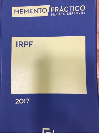 Memento IRPF 2017