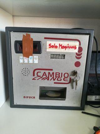 maquina de cambio para bar