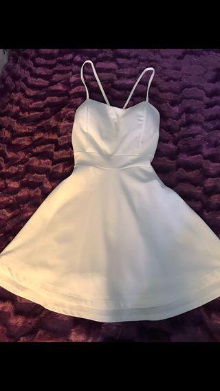 Vestido blanco verano talla S