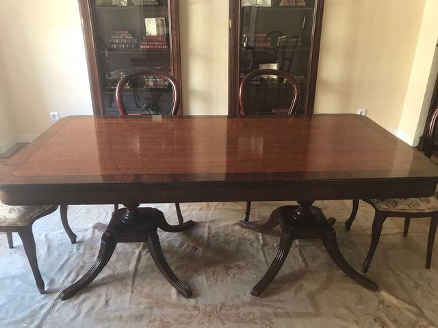 Mesa comedor estilo inglés de madera de segunda mano por 600 € en ...